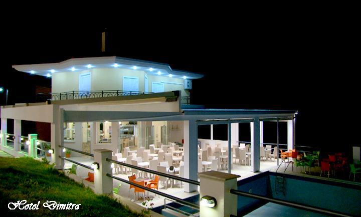 Grcka hoteli letovanje, Preveza, Hotel Dimitra, terasa