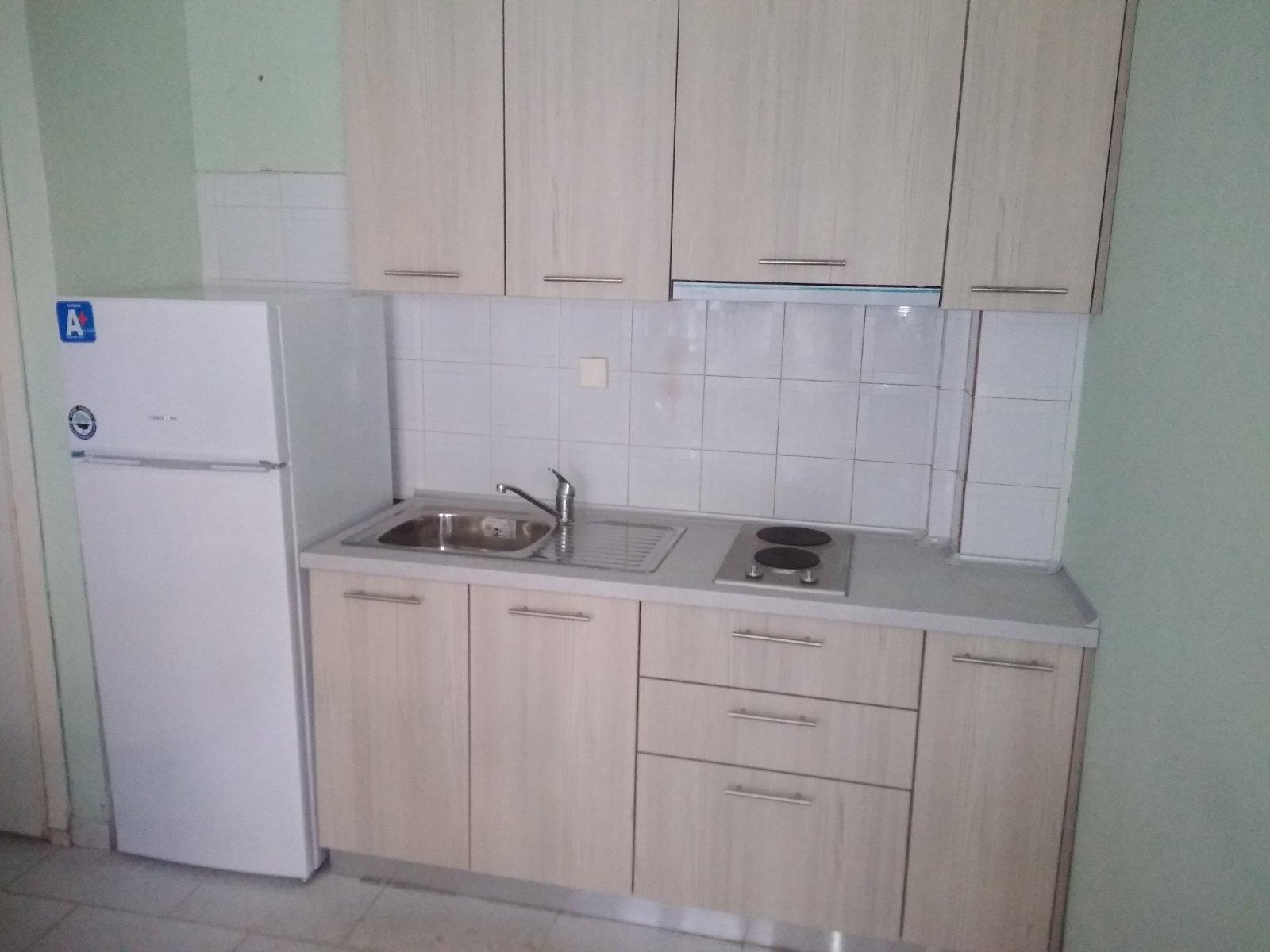 Grcka apartmani letovanje, Pefkohori, Halkidiki, Adonis, izgled kuhinja