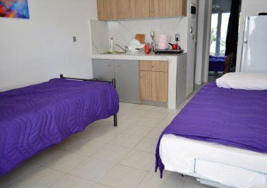Grcka apartmani letovanje, Polihrono Halkidiki, Green Gardens, kuhinjski prostor