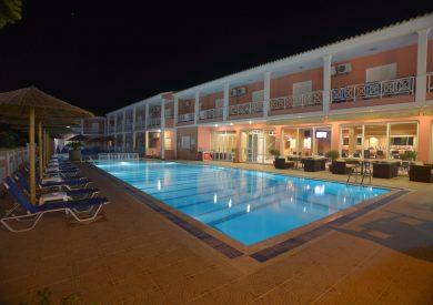Grcka hoteli letovanje, Krf, Sidari, Hotel Angelina, bazen