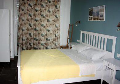 Grcka apartmani letovanje, Vrahos, Argo, izgled spavaće sobe