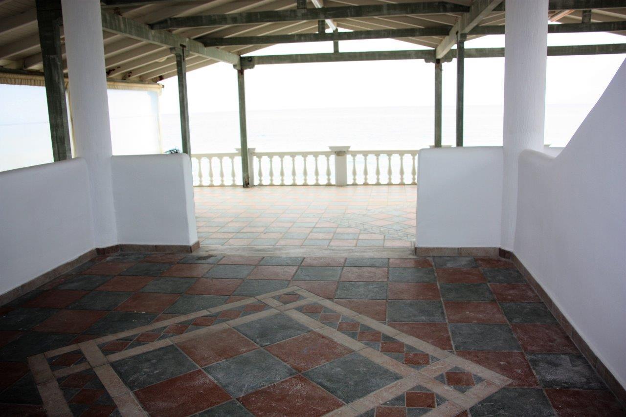 Grcka apartmani letovanje, Vrahos,  Argo, terasa