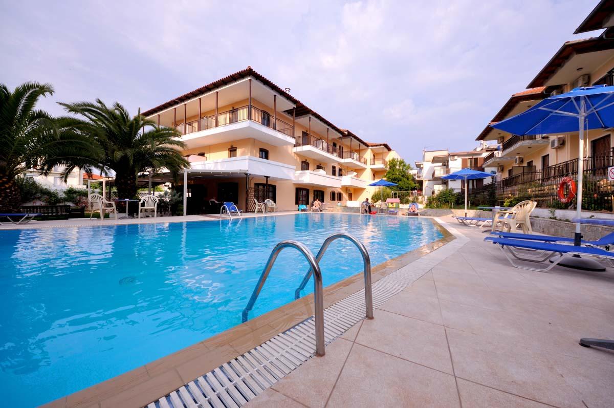 Grcka hoteli letovanje, Tasos, Limenas, Hotel Pegasus, panorama