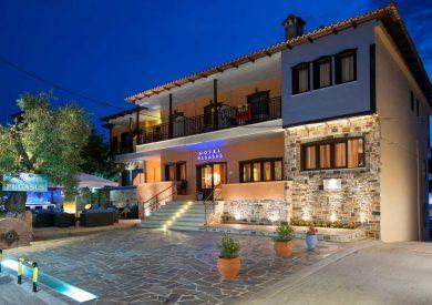 Grcka hoteli letovanje, Tasos, Limenas, Hotel Pegasus, eksterijer