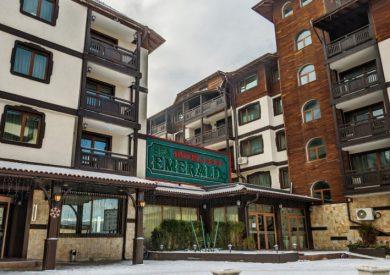 Zimovanje Bugarska, Bansko, Hotel Emerald, eksterijer
