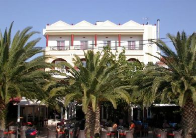 Grcka hoteli letovanje, Evia, Galini, eksterijer