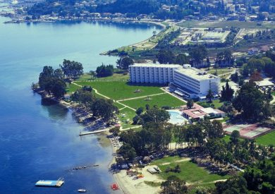 Grcka hoteli letovanje, Krf, Alykes, Hotel Louis Kerkyra Golf, panorama
