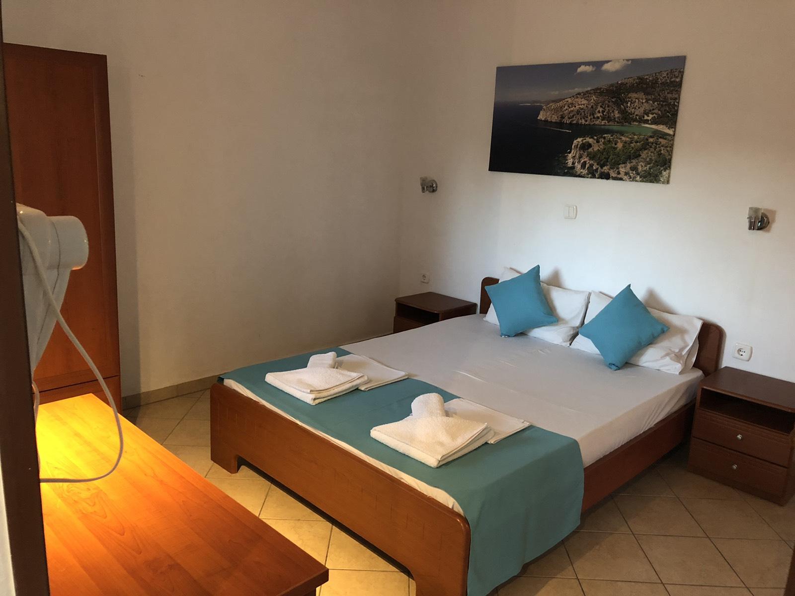 Apartman A2+2,spavaća soba jedan veliki ležaj