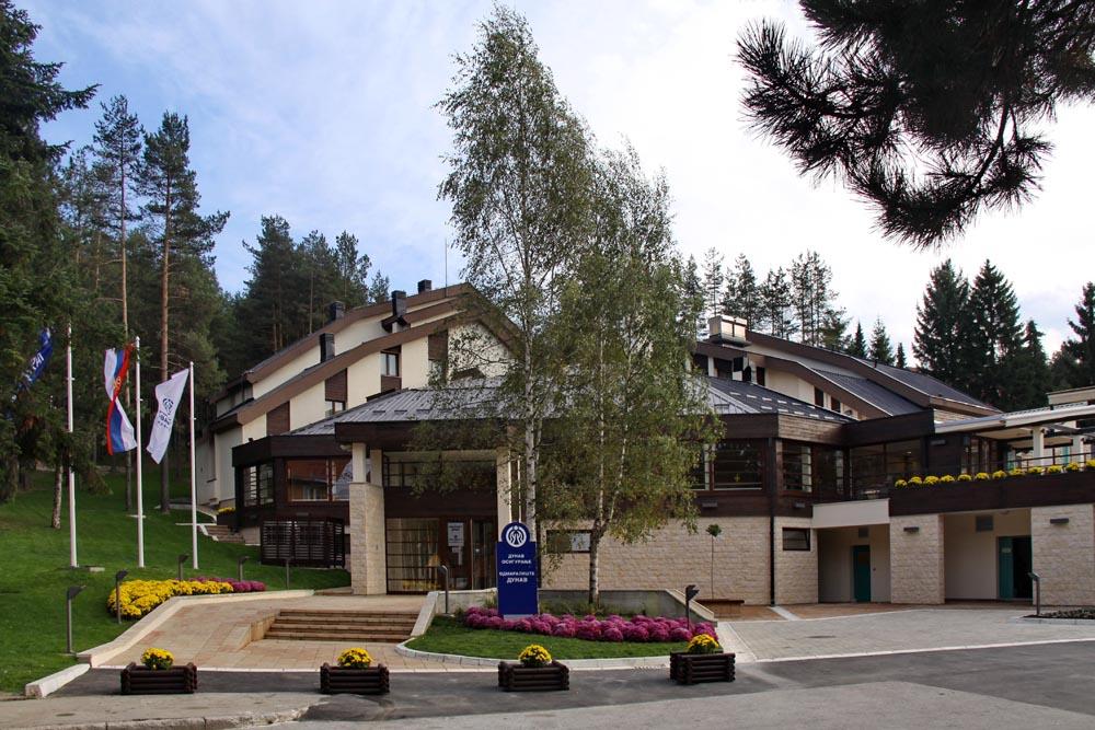 Zlatibor, zimovanje, smeštaj, Odmaralište Dunav Turist, eksterijer