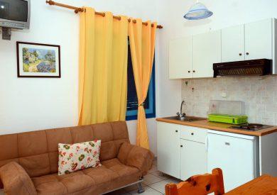 Grcka apartmani letovanje, Parga,Janis,  sofa na razvlačenje