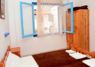 Grcka apartmani letovanje, Parga,Janis, spavaća soba u apartmanu