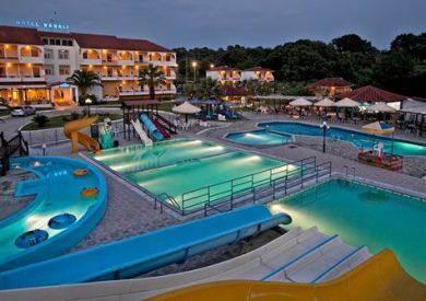 Grcka hoteli letovanje, Kanali, Hotel Kanali Beach, eksterijer