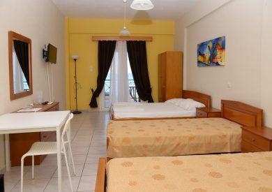 Grcka apartmani letovanje, Vrahos, Kyma, izgled studija