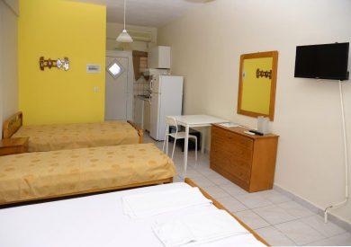 Grcka apartmani letovanje, Vrahos, Kyma, spavaća soba