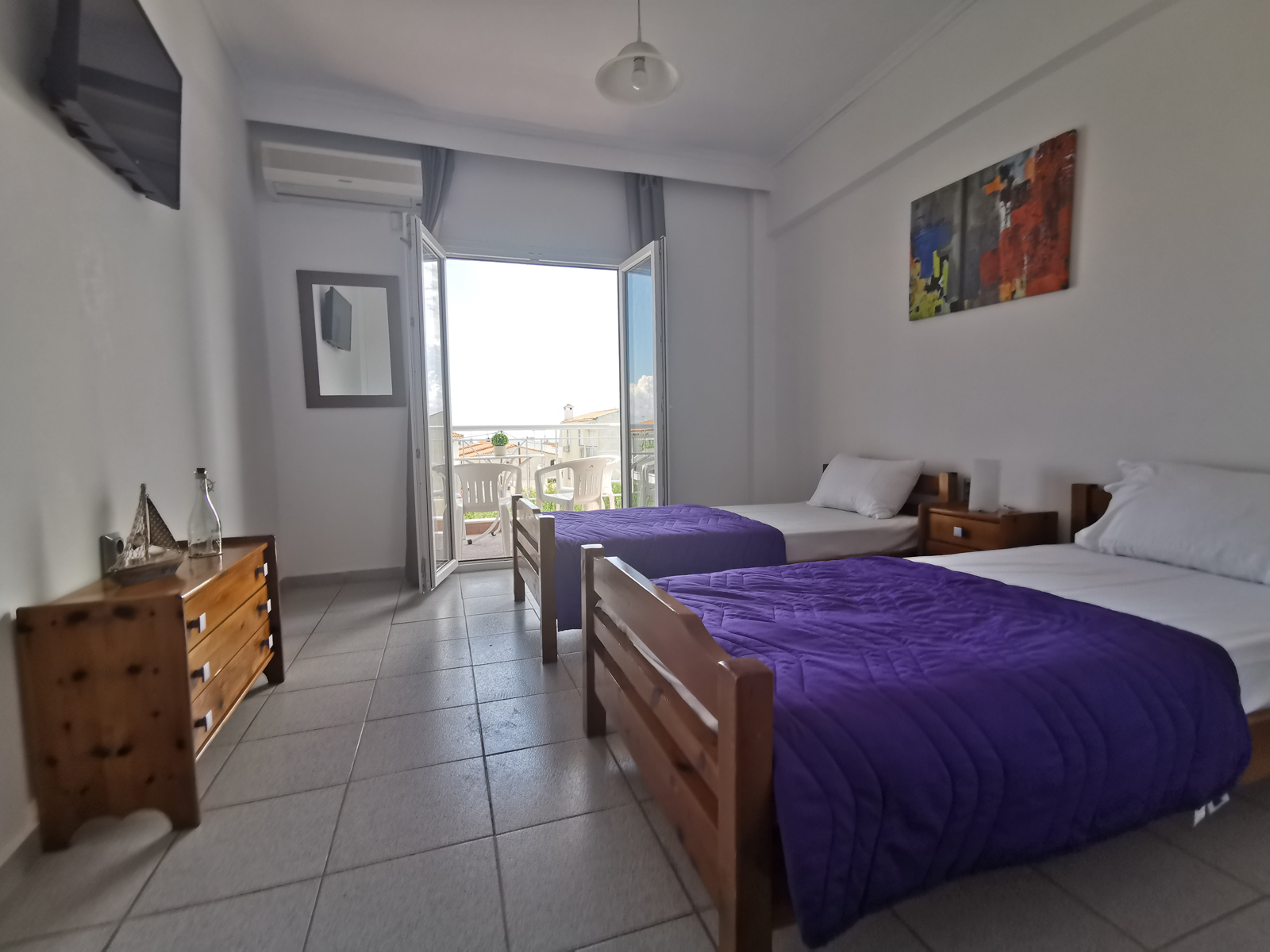 Grcka apartmani letovanje, Polihrono Halkidiki, Green Gardens, izgled apartmana