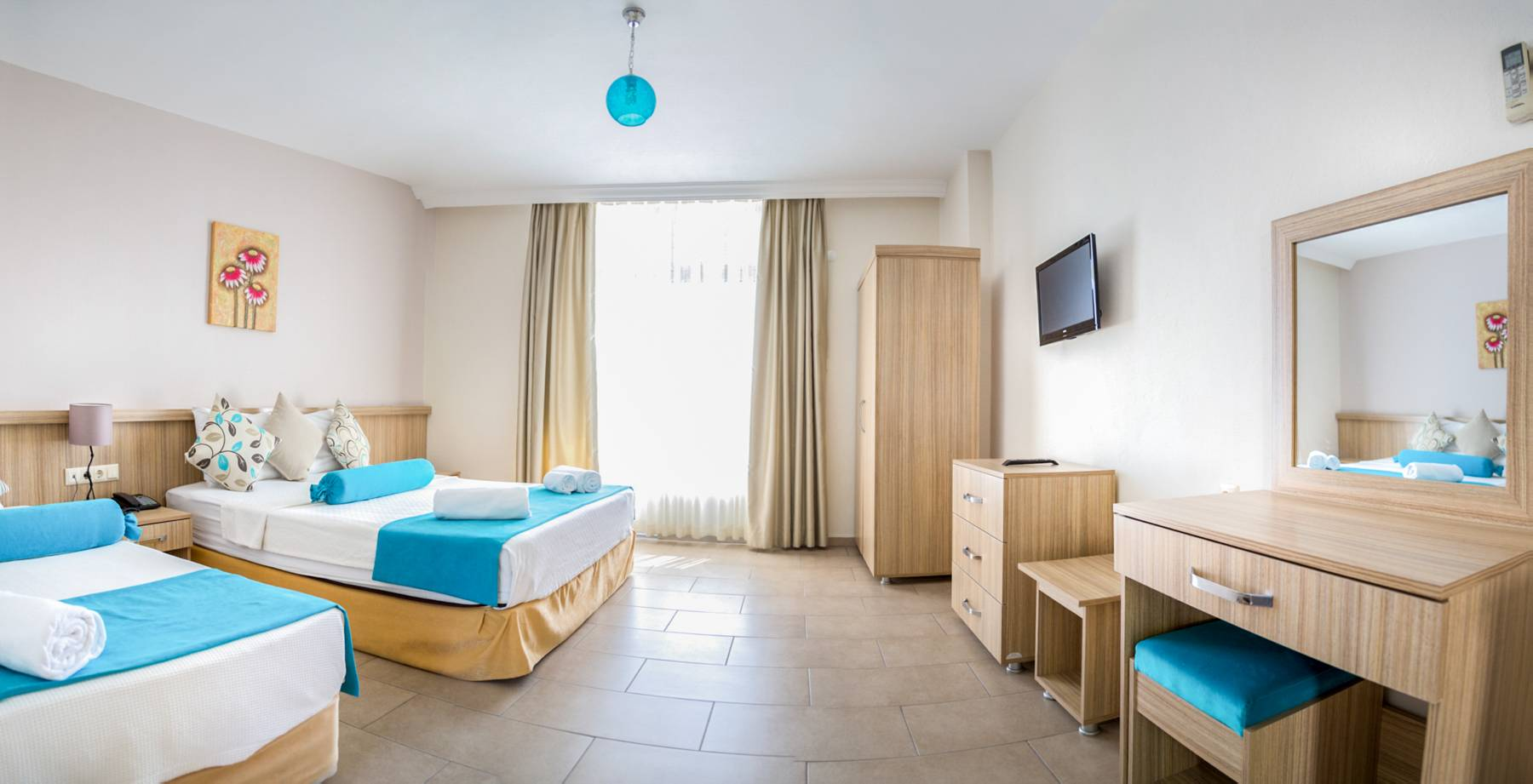 Letovanje Turska autobusom, Kusadasi, Hotel Ponz,soba izgled