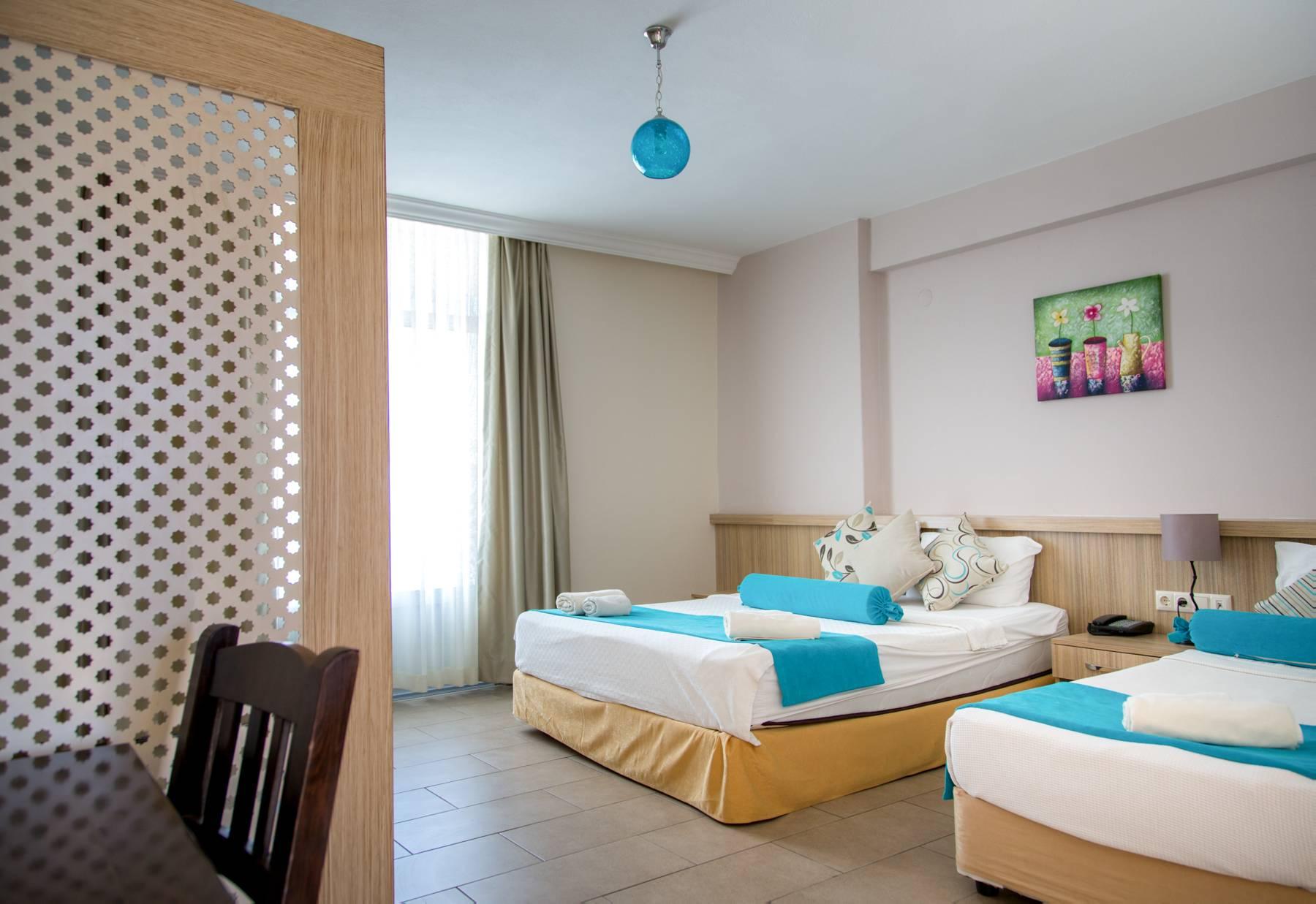 Letovanje Turska autobusom, Kusadasi, Hotel Ponz,izgled sobe