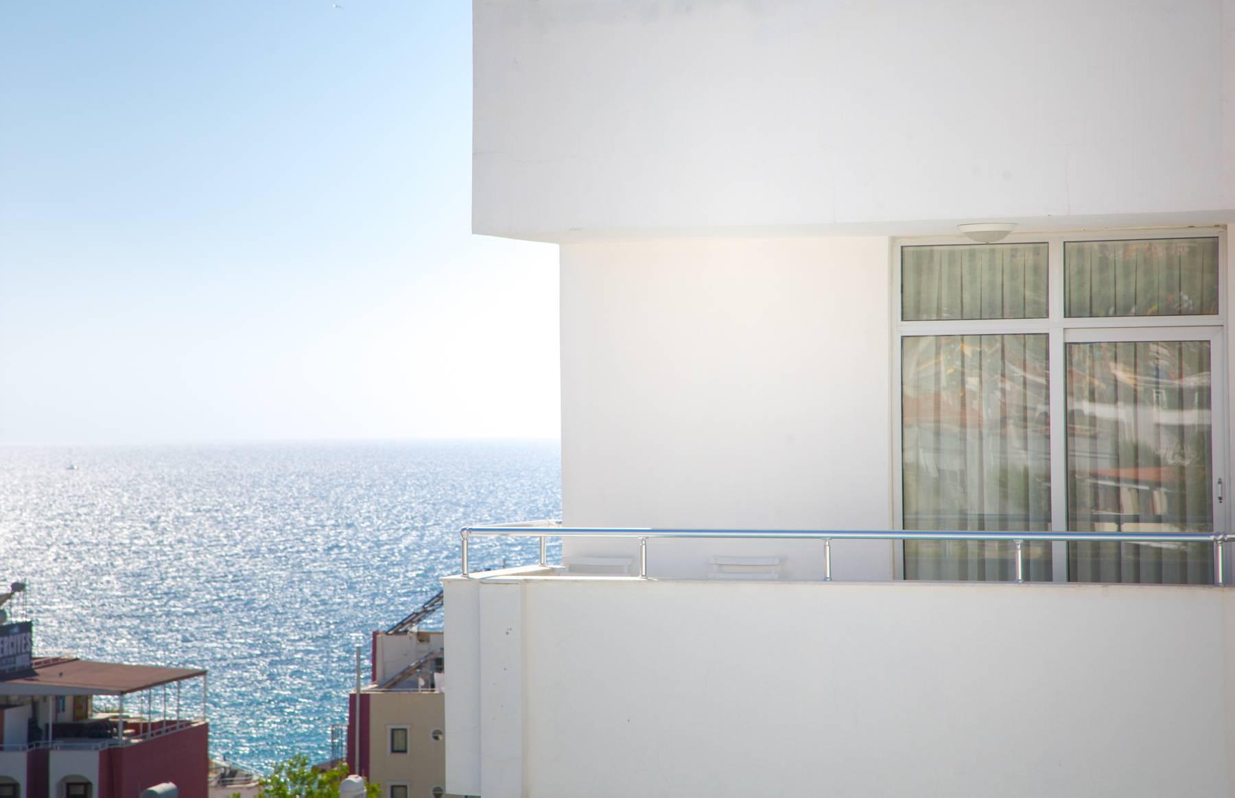 Letovanje Turska autobusom, Kusadasi, Hotel Ponz,pogled na more sa terase