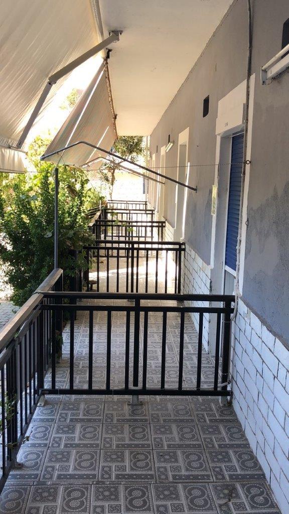 Grcka apartmani letovanje, Pefkari, Tasos, Pefkari Bay, terasa u prizemlju S2/S3