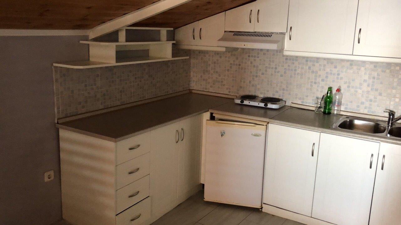 Grcka apartmani letovanje, Pefkari, Tasos, Pefkari Bay, kuhinjski deo S4SV