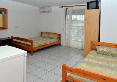 Grcka apartmani letovanje, Olimpik bic, Savas, izgled sobe