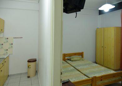 Grcka apartmani letovanje, Olimpik bic, Savas, krevet