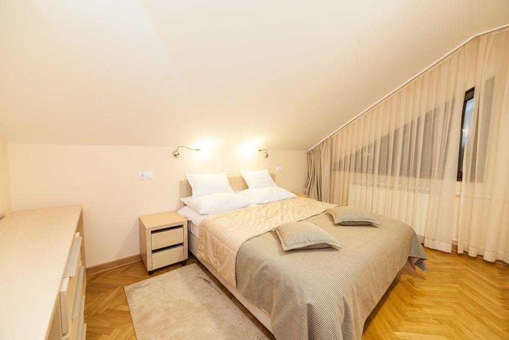 Zlatibor, zimovanje, smeštaj, Odmaralište Dunav Turist, spavaca soba