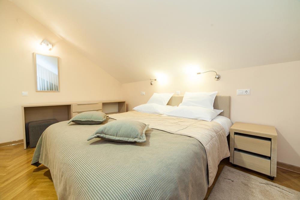 Zlatibor, zimovanje, smeštaj, Odmaralište Dunav Turist, izgled spavace sobe