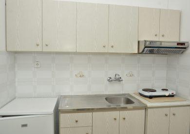 Grcka apartmani letovanje, Nea Vrasna, Aglaia, kuhinja u duplexu