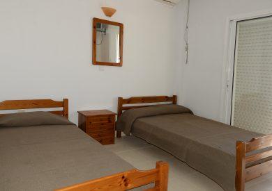 Grcka apartmani letovanje, Nea Vrasna, Aglaia, spavaća soba u duplexu