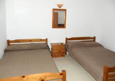 Grcka apartmani letovanje, Nea Vrasna, Aglaia, izgled spavaće sobe u duplexu