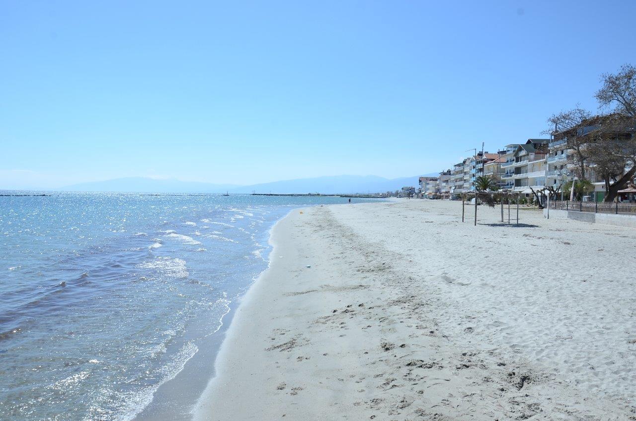 Grcka apartmani letovanje, Paralia, Veta, plaža