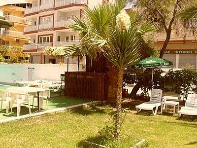 Letovanje Turska autobusom, Kusadasi, Hotel Tecimen,bašta