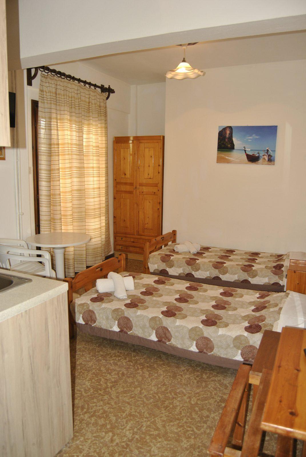 Grcka apartmani letovanje, Nea Flogita Halkidiki, Pirgioti, kuhinja