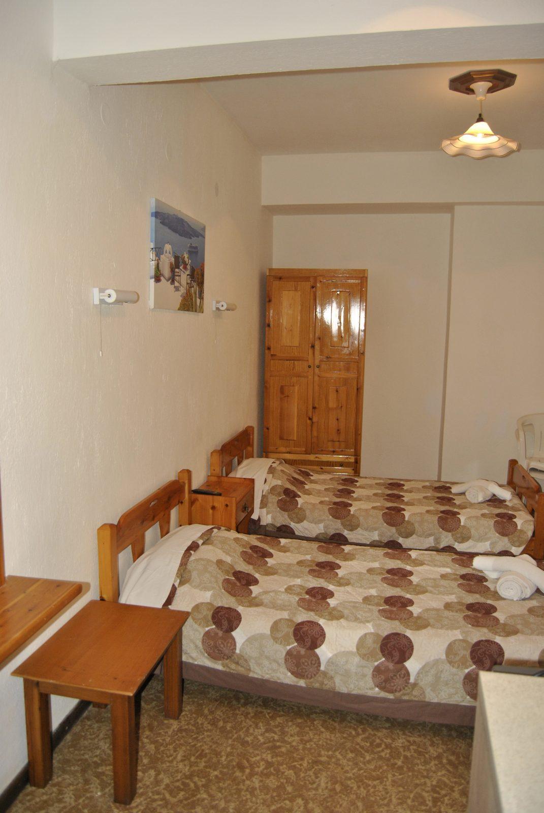 Grcka apartmani letovanje, Nea Flogita Halkidiki, Pirgioti, izgled sobe