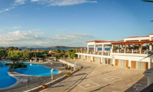 Grcka hoteli letovanje, Halkidiki, Uranopolis,hotel Alexandros Palace,hotelski bazen