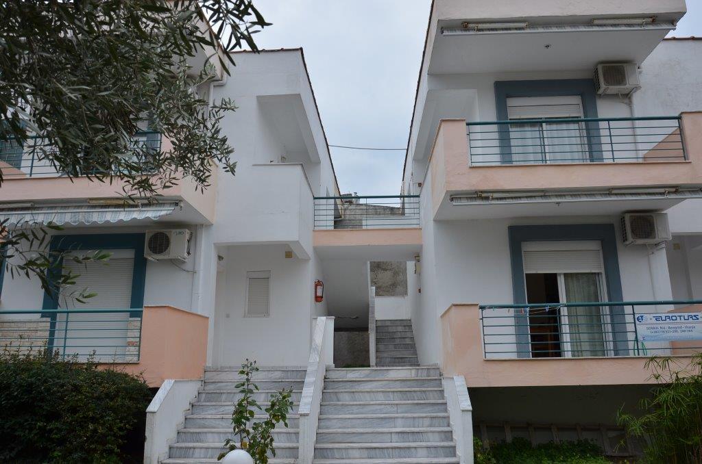 Grcka apartmani letovanje, Pefkohori, Halkidiki, Adonis, objekat