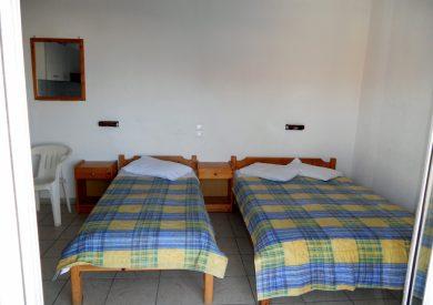 Grcka apartmani letovanje, Leptokaria, dimitris, spavaća soba