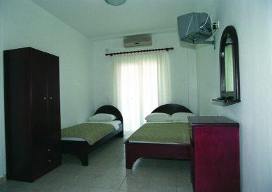 Grcka apartmani letovanje, Paralija, Electra beach, izgled sobe