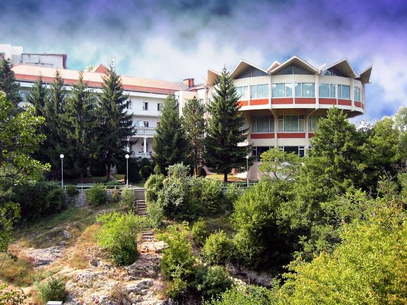 Banje,Sokobanja, smeštaj, Hotel Banjica, panorama