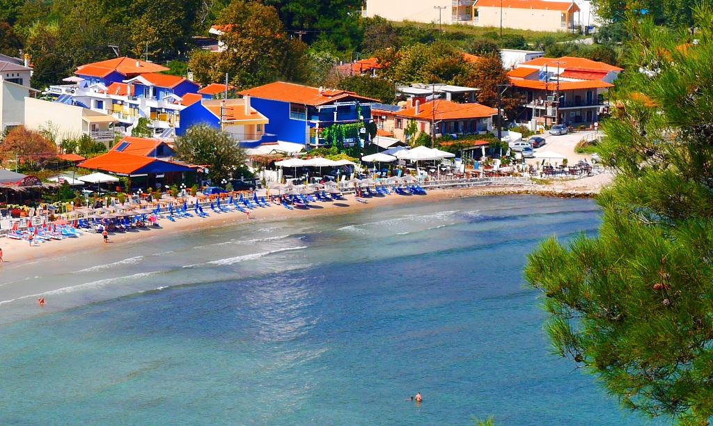 Grcka hoteli letovanje, Tasos, Blue Sea Beach Resort, eksterijer