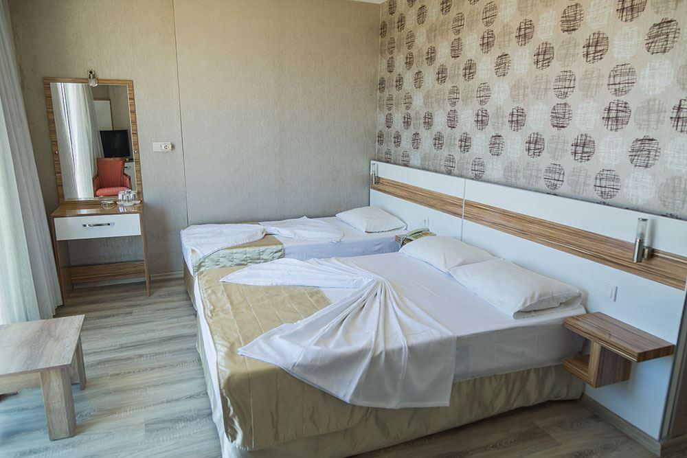 Letovanje Turska autobusom, Sarimsakli, Hotel Acem,izgled trokrevetne sobe