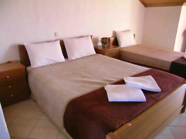 Grcka hoteli letovanje, Tasos, Skala Rahoni, Hotel Filippos, igled hotelskog apartmana