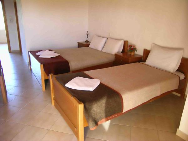Grcka hoteli letovanje, Tasos, Skala Rahoni, Hotel Filippos, soba u hotelu