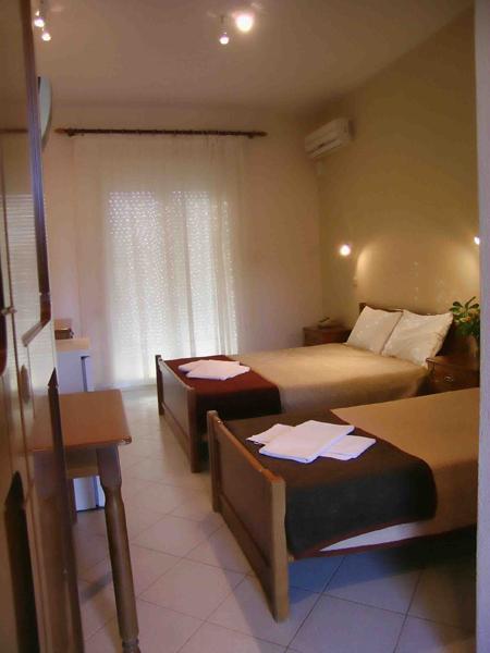 Grcka hoteli letovanje, Tasos, Skala Rahoni, Hotel Filippos, apartman