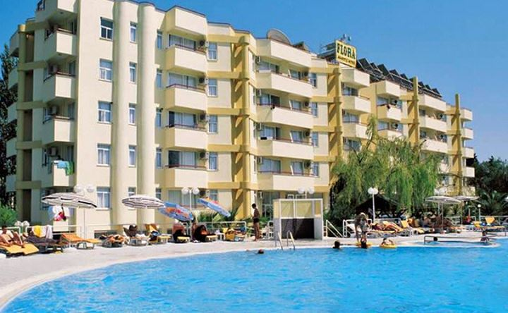 Letovanje Turska autobusom, Kusadasi, Hotel Flora family suites,spoljašnji izgled