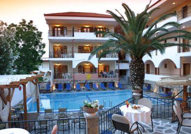 Grcka hoteli letovanje, Halkidiki, Calypso HANIOTI, eksterijer