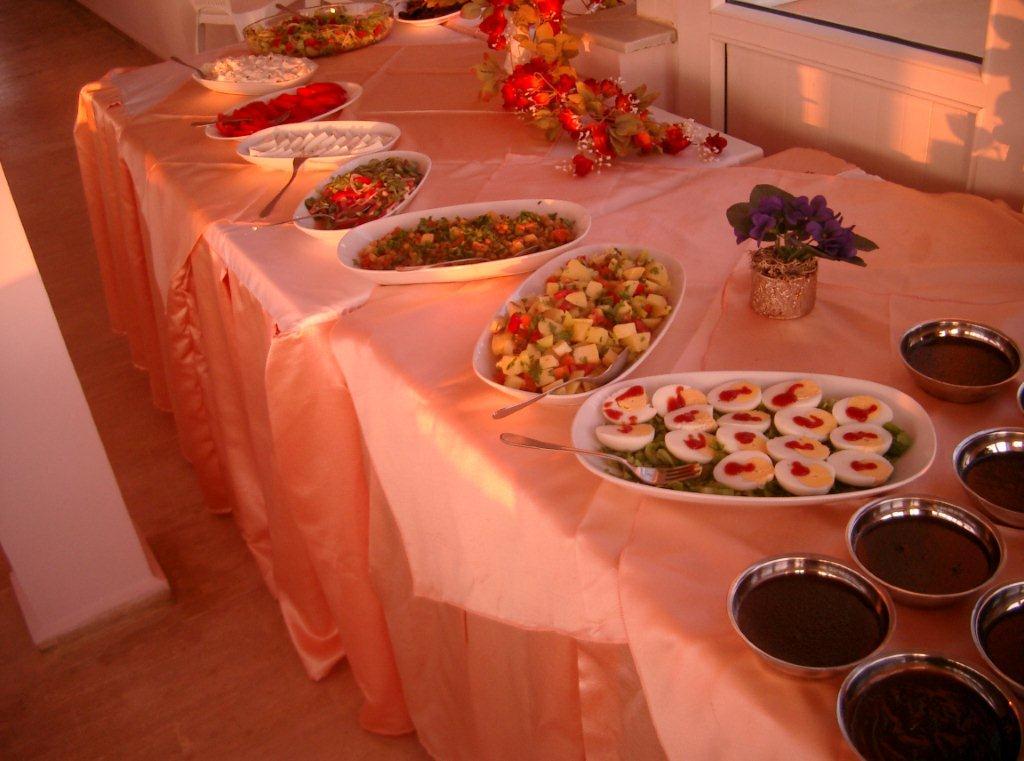 Letovanje Turska autobusom, Kusadasi, Hotel Grand Nett,salate za obrok