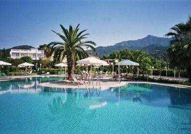 Grcka hoteli letovanje, Tasos, Limenas, Hotel Aethria, eksterijer