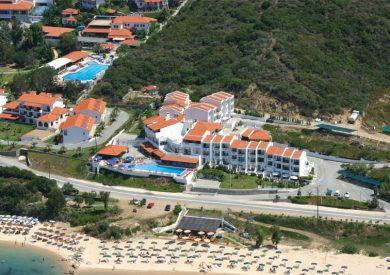 Grcka hoteli letovanje, Halkidiki, Uranopolis,hotel Akti Ouranopoli,eksterijer